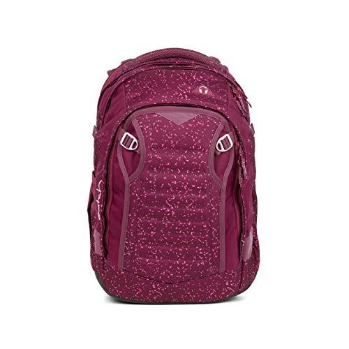 satch Match, Berry Bash ergonomischer Schulrucksack, erweiterbar auf 35 Liter, extra Fronttasche