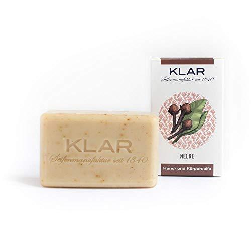 Klar - Jabón de clavel - Vegano - Sin aceite de palma - 100 g