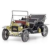 Fascinations Metal Earth 1908 Ford Model T Dark Green 3D Metal Model Kit
