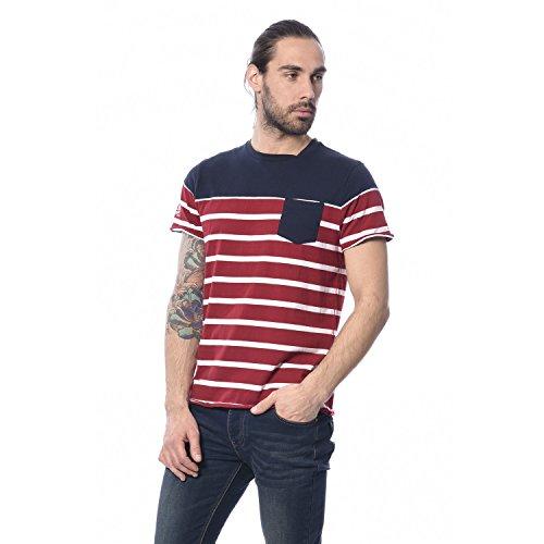 Deeluxe Fridge T-Shirt, Rosso (Red), S Uomo