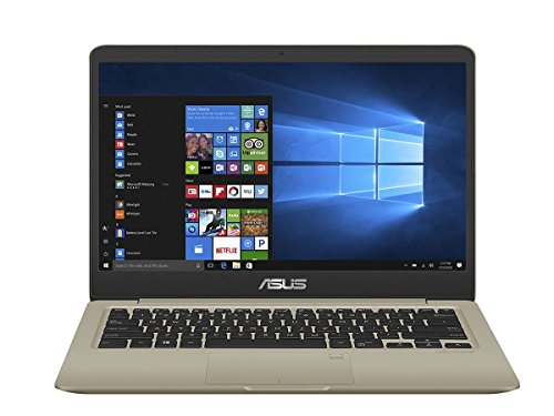 ASUS VivoBook S Thin & Light Laptop, 14in FHD, Intel Core i7-8550U, 8GB RAM, 256GB SSD, GeForce MX150, NanoEdge Display, Backlit Kbd, FP Sensor - S410UN-NS74 (Renewed)