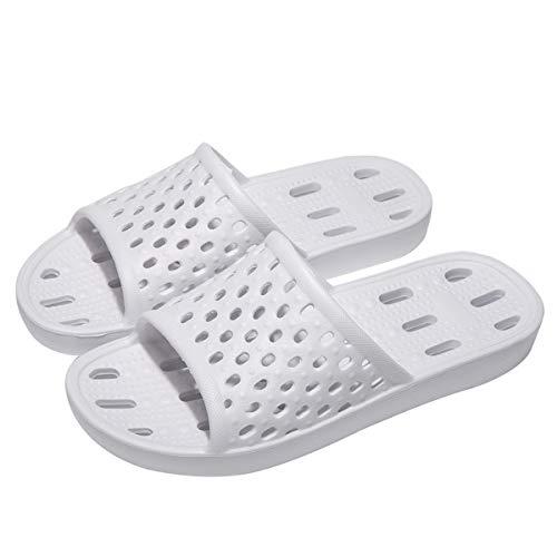 [Ducan] サンダル ベランダ 超軽量 スリッパ 水切り 滑り止め 男女兼用 通気抗菌 23.0~27.0センチ お風呂/ルーム/来客用/プール 通年適用