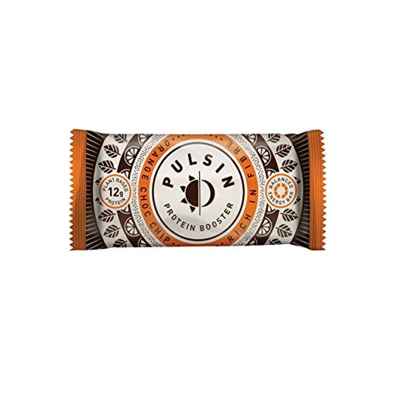 壮大な気候の山袋オレンジ チョコチップ プロテイン スナック 50g【18個セット】