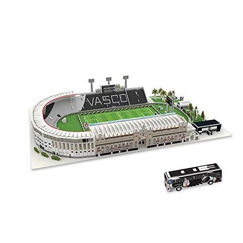 LMCLJJ Vasco da Gama Stadio Stadio Puzzle 3D Fai da Te Puzzle di Costruzione di Modello Kit Toy Puzzle Meccanica