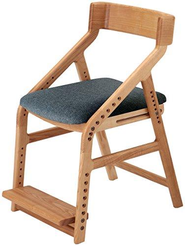 市場 イートコ 子どもチェアー 座面昇降型 木製 ナチュラル JUC-2170NA