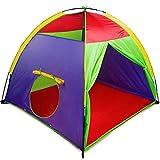 "Alvantor Kids Tents Indoor Children Play Tents For Toddler Tents For Kids Pop Up Tent Boys Girls Toys Indoor Outdoor Play Houses 8017 Giant Party 58""x58'x47'"