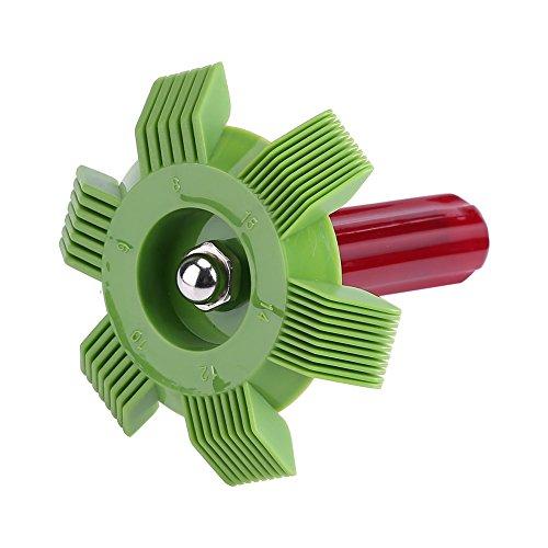 AC verdamper kam condensator radiator coil fin straightener kam rake airconditioning gereedschap