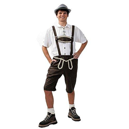 KarnevalsTeufel Trachtenhose Franzl für Herren, Oktoberfest, Tracht, Wies'n, Volksfest, Bayern (X-Large)