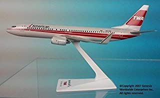 Flight Miniatures American Airlines TWA Trans World Boeing 737-800 1:200 Scale 2015 Heritage Livery Display Model