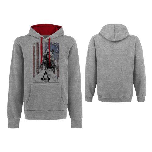 Générique Assassins Creed 3 Hoodie -L- Flag/Connor
