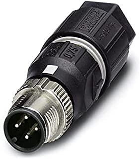 PHOENIX CONTACT SACC-MS-4QO-0.75-M SCO connector, universal, 4-pin, straight M12 SPEEDCON, coding cutting terminal connect...