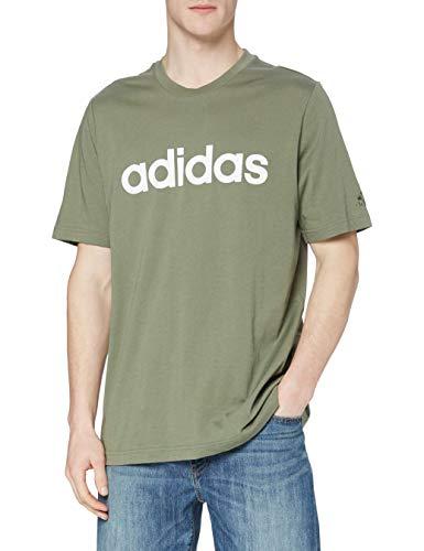 adidas GL0059 M Lin SJ T T-Shirt Uomo Legacy Green M