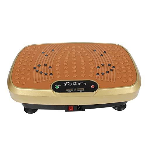 VRQG Mini Plateforme Vibrante et Oscillante, Machine pour Perte de Poids dans la Maison, Contrôlé par Ecran, avec Télécommande et Moteur Silencieux, Idéal pour Fitness et Musculation.