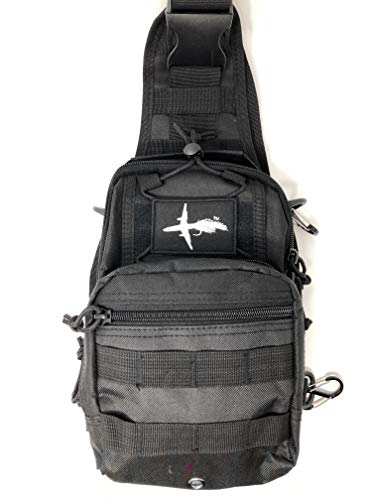 El Bolso  Fly Fishing Sling Pack  Adjustable Fishing Pack  Hiking Fly Fishing Pack  Tactical Fishing Pack  The Perfect Size Bag for Fly Fishing  Super Simple Yet Functional & Durable
