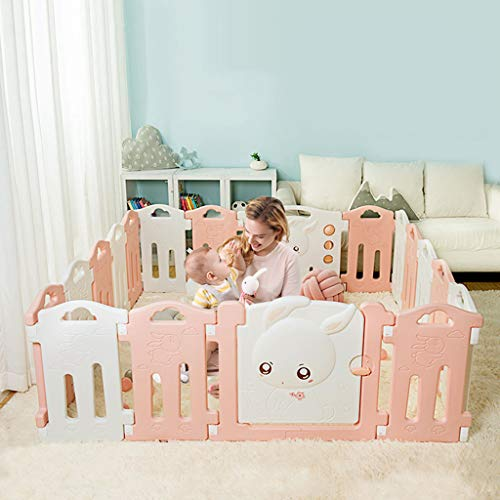 Buy Baby Playpen Child Safety Fence Play Yard Toddlers Activity Center Home Indoor and Outdoor with ...