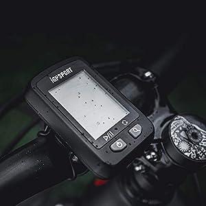 iGPSPORT Ciclocomputador con GPS 20E inalámbrico Impermeable Ordenador de Bicicleta