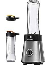 Electrolux Sportsblender, Modell ESB2700, Fyll den BPA-fria plastflaskan (600 ml) med hälsosam smoothie på nolltid med denna mixer. Löstagbara Knivar, 400W, Rostfritt stål
