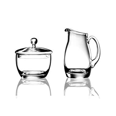 Luigi Bormioli Michelangelo Sugar and Creamer Set