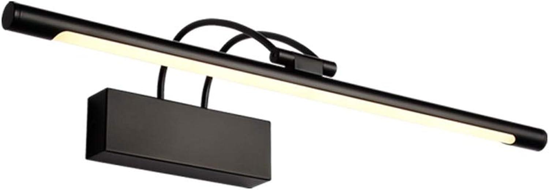 &LED Spiegelfrontlampe Spiegel Frontleuchte LED Bad Licht Wandleuchte Spiegel Kabinett Licht Wasserdicht Anti-fog Schminktisch Spiegellampe Lampe vor dem Spiegel (Farbe   Weies Licht-55cm)