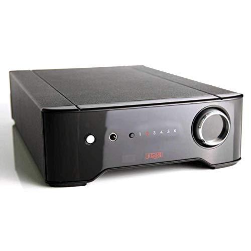 Rega Brio Homewired Black Audio Amplifier - Amplificador de Audio (93 W, 93 W, 58 W, 109 Ω, Binding Post, 6,3 mm)