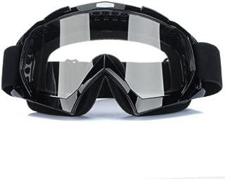 Binnan Gafas Protectoras Mascara Ajustable para Motocross Moto Ciclismo, Negro