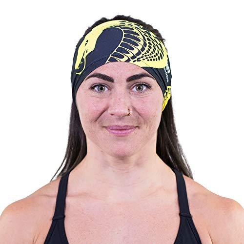 WODABLE Kai (Cobra) Stirnband, Einheitsgröße, Unisex, ultraweich, für Sport, Sport, Kobra, Kai Läufer, Laufen, Wandern