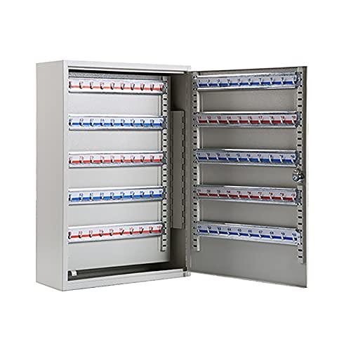 QSJY Caja de Bloqueo con Llave, Caja de Seguridad montable en la Pared para Llaves sin Etiqueta de Llave, boquiabierto con Llave de 5-8 cm (Color : 200, Size : 55×38×14cm)