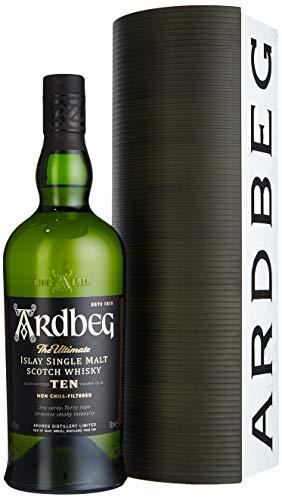 Ardbeg TEN Warehouse Edition mit Geschenkverpackung Whisky (1 x 0.7 l)