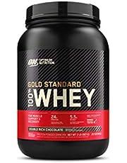 Optimum Nutrition 100% Whey Gold Standard,Double Rich Chocolate,2Lb (0.9 Kg)