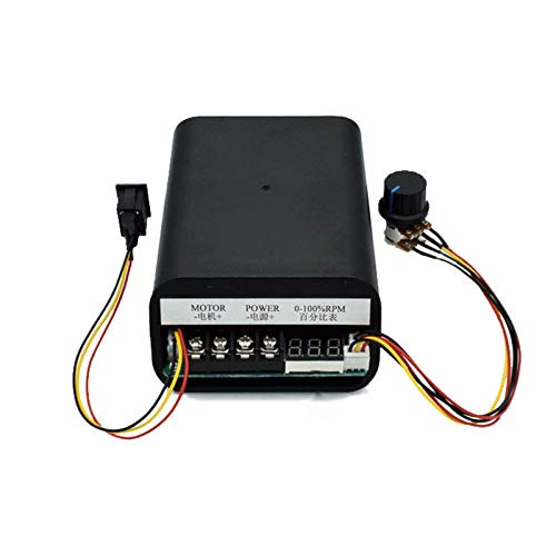 NEW TYP PWM DC-Motor Ansteuerung Drehzahlregler max 60A CW CCW Digitalanzeige 0~100% 10V ~ 55V LED Motorrichtungansteuerung vorwärts rückwärts Steuerung