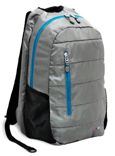 J World New York Collis Laptop Backpack, Grey, One Size