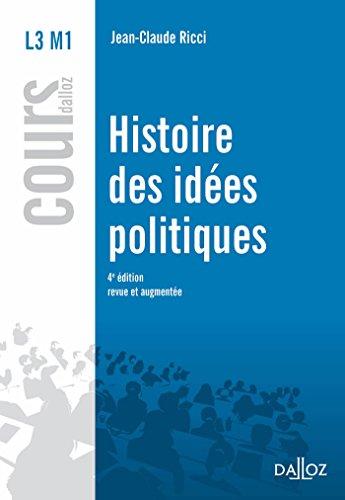 Histoire des idées politiques (Cours)