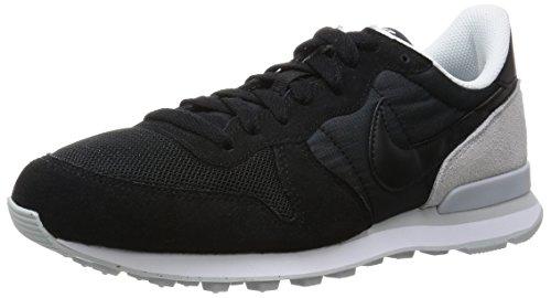 Nike Herren Internationalist Laufschuhe, Schwarz (schwarz/Pure Platinum), 46 EU