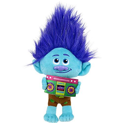 DreamWorks TrollsTopia 8 Inch Small Plush Branch, Stuffed Toys for Kids, Multi-Color