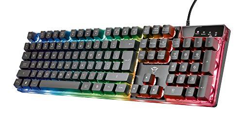 Trust Gaming GXT 835 Azor Tastiera Illuminata Gaming