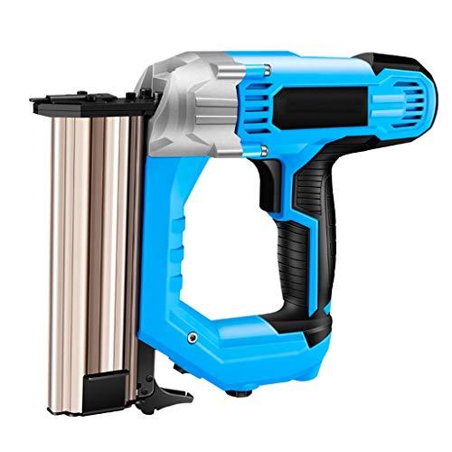 GHKWXUE Arma eléctrico de uñas Recta, 3800W Pistola de Clavos Grapadora, Intensidad...