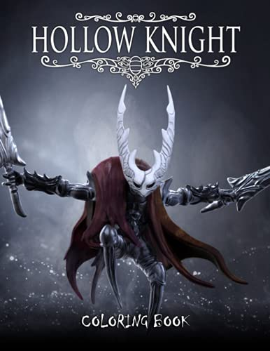 Hollow Knight Coloring Book: Great Coloring Book for Kids...