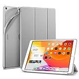 ESR TPU Hülle Kompatibel mit iPad 10.2 2019 Hüllen für iPad 7. Generation - Smart Schutzhülle mit weicher Rückseite [Auto Schlaf/Wach-Funktion und Ansichts-/Tippmodus] für iPad 10,2 Zoll - Silber