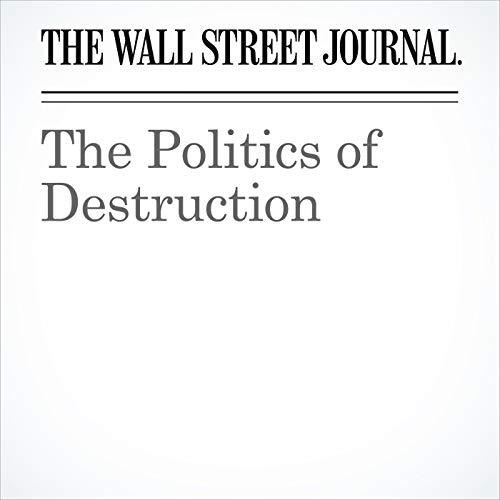 The Politics of Destruction copertina