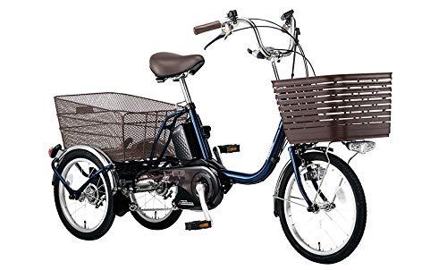 BE-ELR833 ビビ ライフ 大人用三輪車 V:USブルー パナソニック Panasonic 前18インチ 後16インチ 3段変速 16Ah 電動アシスト三輪自転車 3年盗難補償付 電動自転車 電動アシスト自転車 電動三輪車 電動 三輪 大人 シニア