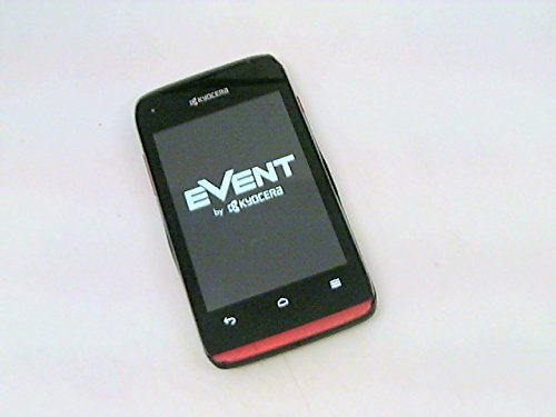 Kyocera Event Red / Prepaid Android Phone (Virgin Mobile)