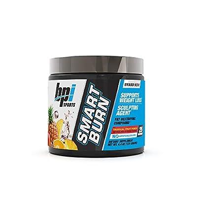 BPI Sports Smart Burn – Weight Loss, Burn Fat, Energy – Carnitine, Cla, Green Tea, Caffeine, Theobromine, Dynamine – for Men & Women – No Artificial Colors – Fruit Punch – 25 Servings – 4oz