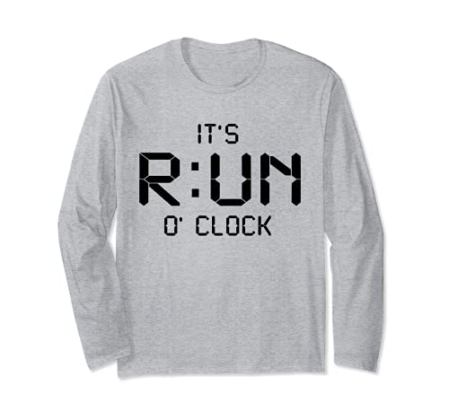 Me corre en punto - correr entrenamiento maratón correr Manga Larga