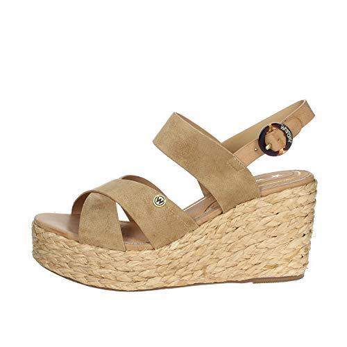 Wrangler Sandalo Donna Tortora Wl01501a
