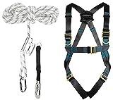 ACE Safety Kit di Protezione Anticaduta - Imbracature & Dispositivo Anticaduta di Tipo Gui...