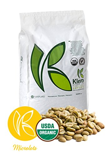 Single Origin Organic Unroasted Green Coffee Beans, Specialty-grade, Direct trade, Brazil   Klem-C14   Brazil Arabica Red and Yellow Catuai 144/142 Varietal, RESERVE, NY 2, Screen 15 up- (11 L/B)