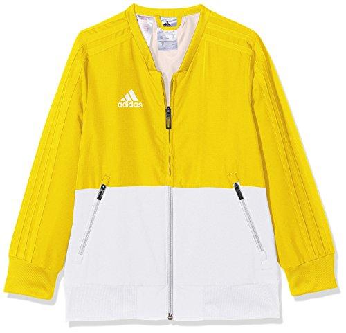 adidas Kinder Condivo 18 Trainingsjacke, Yellow/White, 164