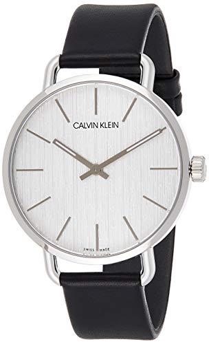 Calvin Klein Reloj Analogico para Mujer de Cuarzo con Correa en Cuero K7B211C6