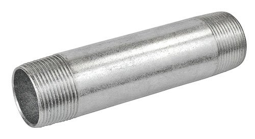 10 Inch Long 2 Inch Galvanized Rigid Conduit Pipe Nipple-1 per case