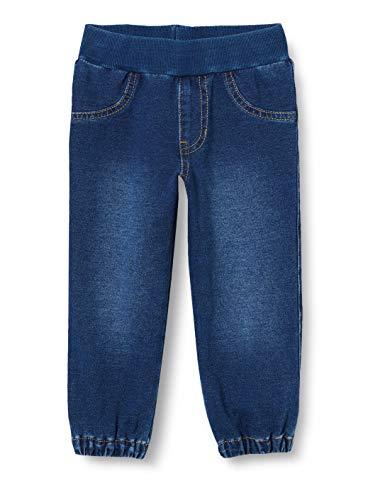 United Colors of Benetton Unisex Baby Pantalone Hose, Blau (Blu Denim 901), 74